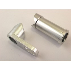 Silver Aluminum Serving Saver Assembly