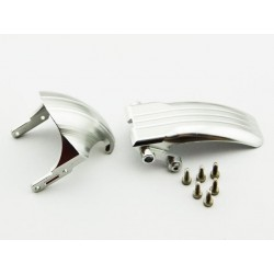 Aluminum Front Fender and Tail Fairing Set.