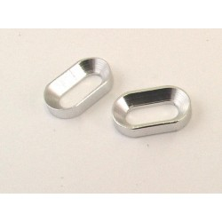 Hot Racing Hot Racing Silver Motor Mount Oval Washer [HOR88908]