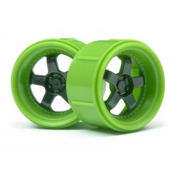 Green Work Meister S1 Wheel, for the Micro Rs4, 4pcs