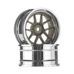 DY Champion 26mm Wheel Chrome/Bronze 6mm OS (2)
