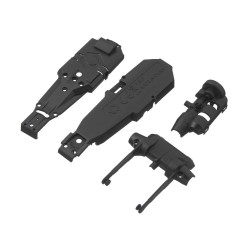 HPI Main Chassis/Rear Axle Q32 [114289]