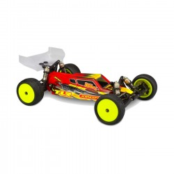 Body w/Aero Wing Clear S2 TLR 22 4.0