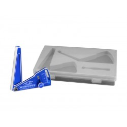Aluminum Camber Gauge 85mm Blue