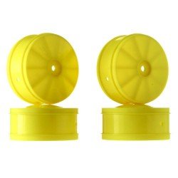 1/10 Bullet 60mm Front Wheel Yellow (4) B44