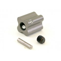 Hard Anodized aluminum 12mm Brake Disk Adapter