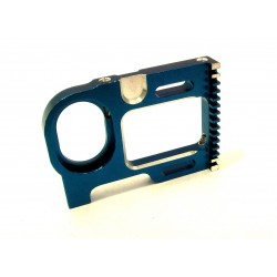 Associated 12l Blue Aluminum Motor Plate