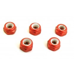 3mm Orange Lock Nut (5)