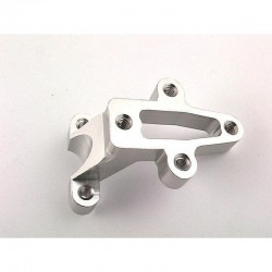 Silver Aluminum Engine Support Brace