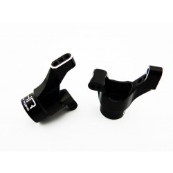 Black Aluminum Rear Knuckles LaTrax Rally Teton