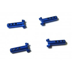 Aluminum Body Posts (4)(Blue) - Losi Micro Crawler