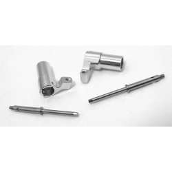 Aluminum Rear Axle Lock-Out Kit - Losi Micro Crawler
