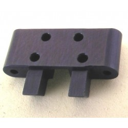 Aluminum Front Lower Arm Mount (Blue) - Losi 1/36 Micro-T