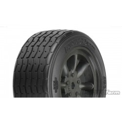 VTA Front Tire 26mm Mounted Black Wheel
