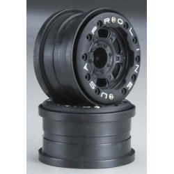 1/16 Titus 2.2 Black/Black Bead-Loc Front/Rear Wheels