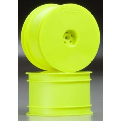 Velocity 2.2 inch Hex Re Ylw Whls w/12mm Hex (2)