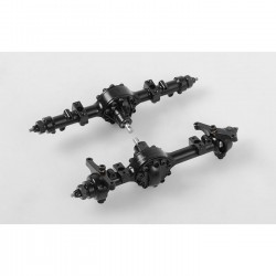 Yota II 1/24 Cast Front and Rear Axle Set
