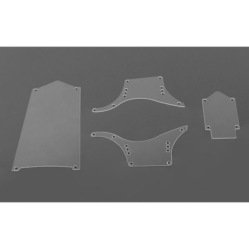 Bully II MOA Clear Body Panel Set