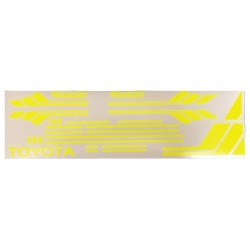 RC4WD Clean Stripes for Mojave II 2/4 Door Decal Sheet (Yellow)