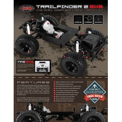 Rc4wd Trail Finder 2 Truck Kit Inch Swb Inch