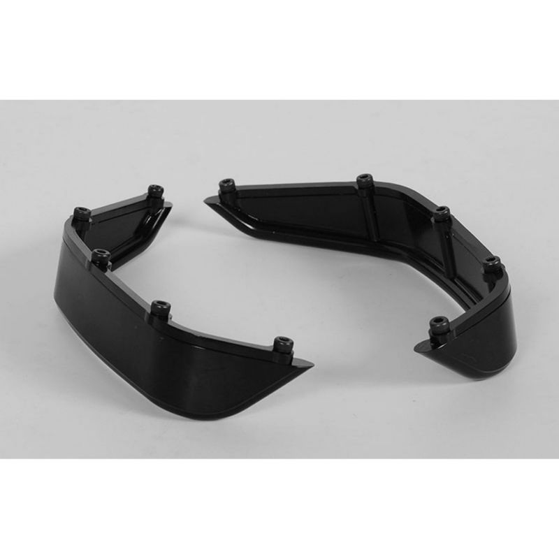RC4WD Aluminum Tube Rear Fender Axial Jeep Rubicon Black