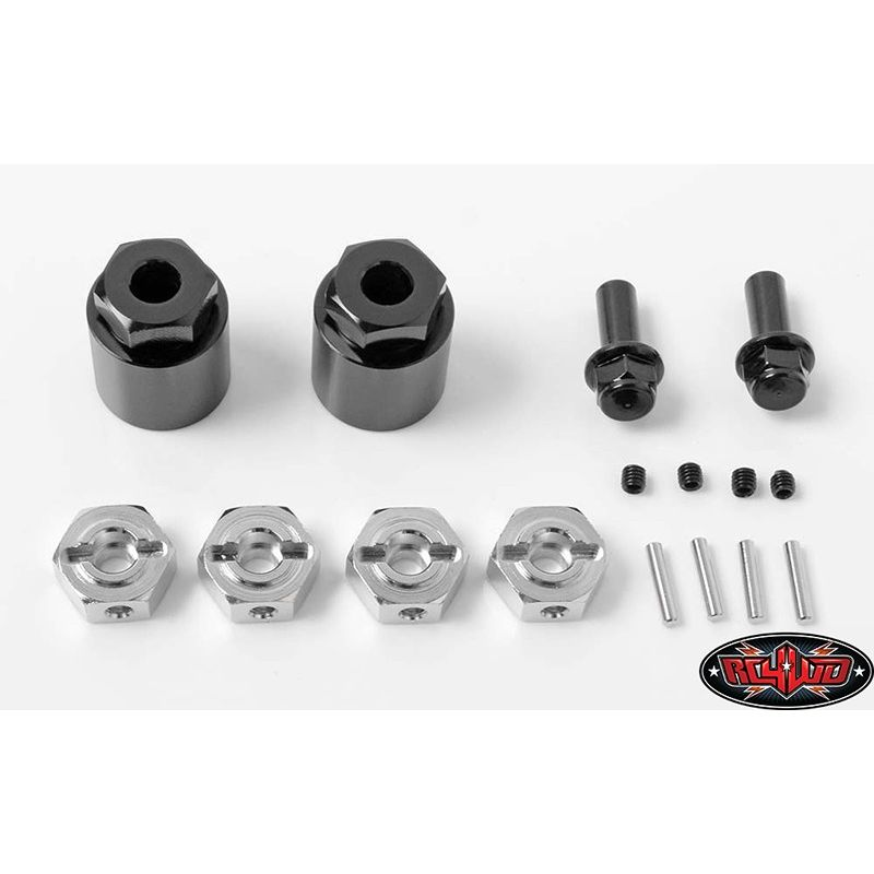 Rear Wheel Adapters for 1/10 Axial Yeti