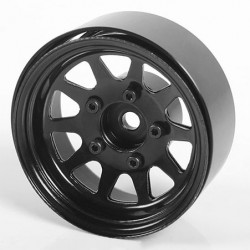 OEM Stamped Steel 1.55 Beadlock Wheels (Black) (4)