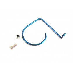 Associated RC10gt Blue Shiny Sonic Pipe Wire Holder