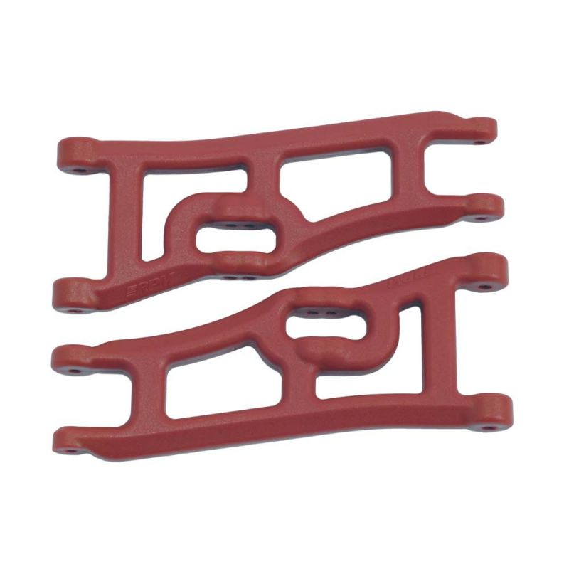 RPM Wide Front A-Arms Rustler/Stampede 2WD Red