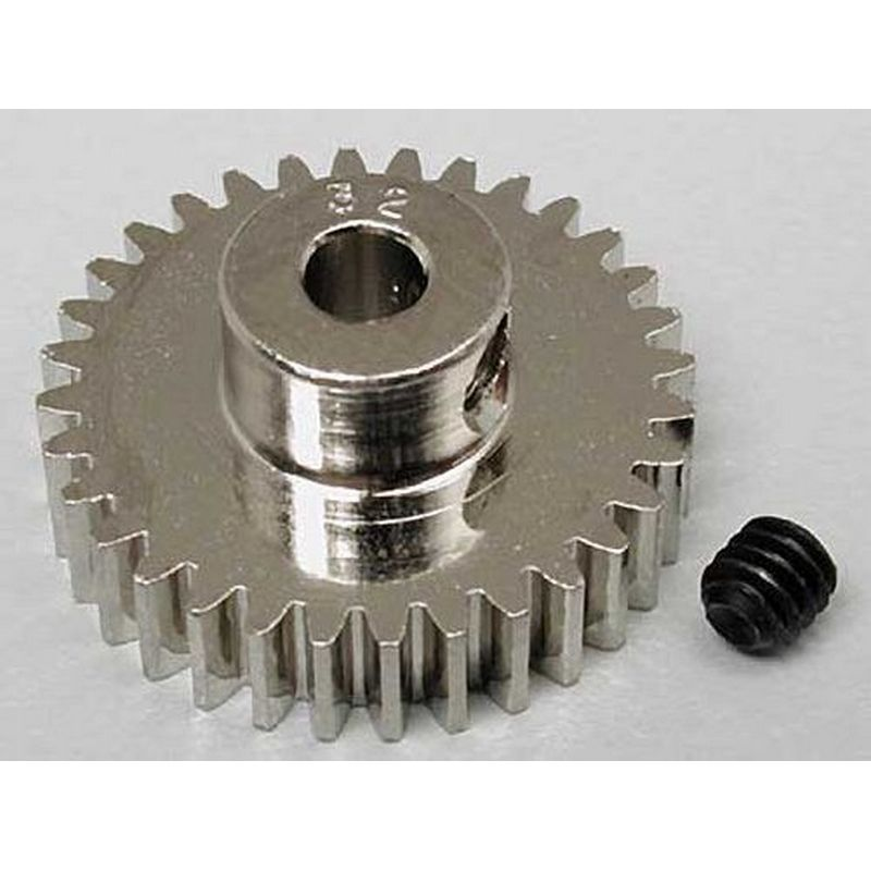 32T 48P Steel Pinion Gear 1/8 Bore