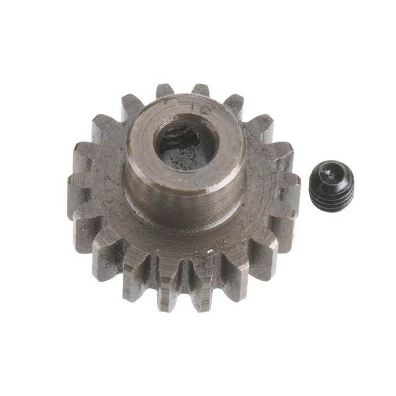 18T Mod 1 Extra Hard Steel Pinion Gear 5mm Bore
