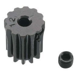 12T Mod 0.5 Hardened Steel Pinion Gear 2mm Bore