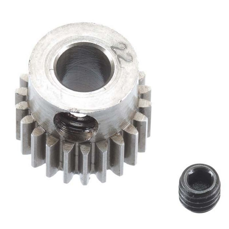 22T 48P Hardened Steel Pinion Gear 5mm Bore