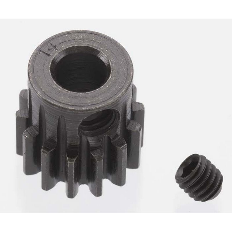 14T 32P Extra Hard Steel Pinion Gear 5mm Bore