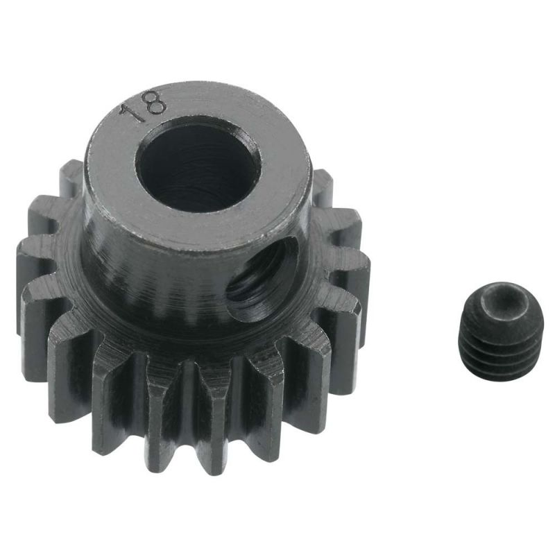18T 32P Extra Hard Steel Pinion Gear 5mm Bore
