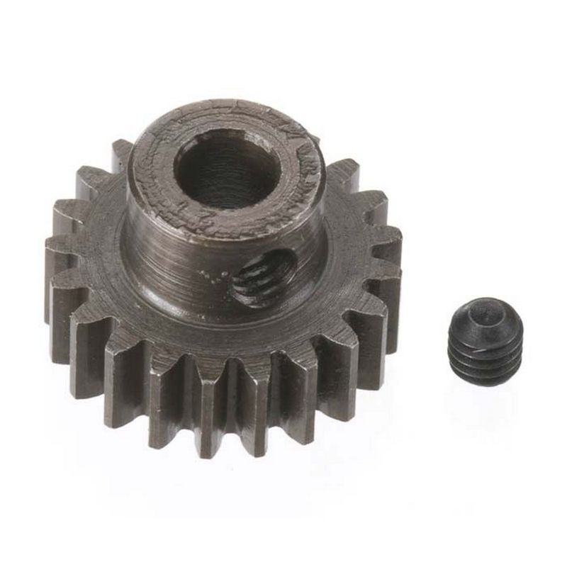 21T Mod 0.8 Extra Hard Steel Pinion Gear 5mm Bore