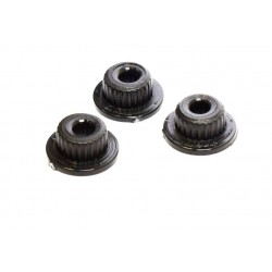 Replacement spline adapters for servo arm and saver