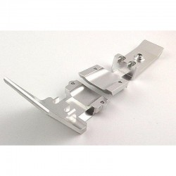 Silver Aluminum Front Skid Plate