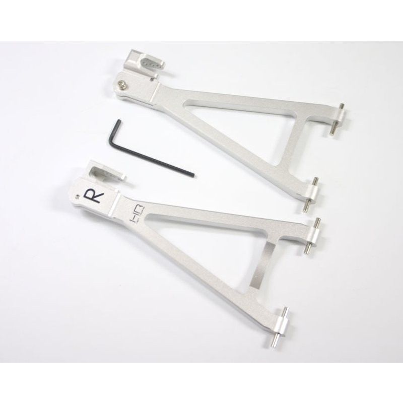 Silver Aluminum Rear Lower Arms