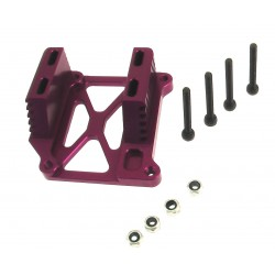 HPI Savage Purple Sloted Heat Sink Engine Mount