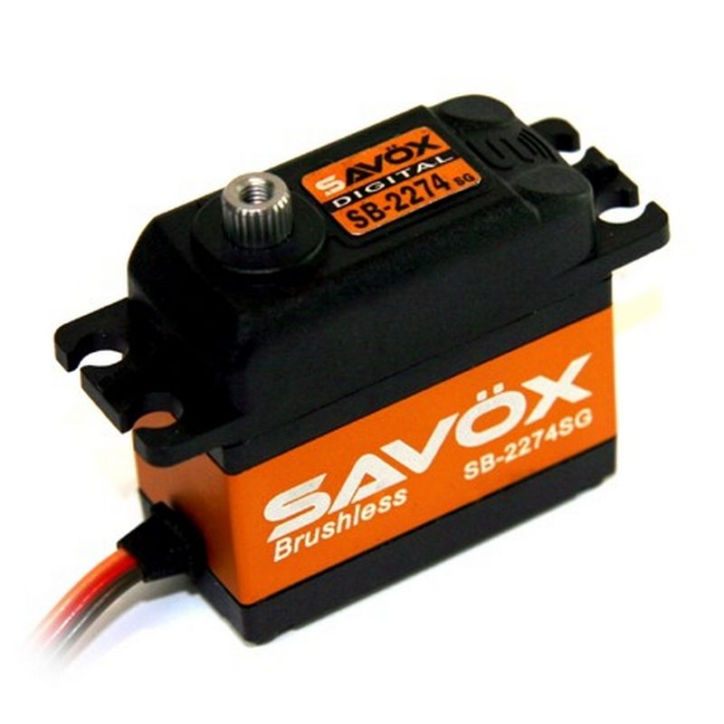 High Voltage brushless Digital Servo 0.080/347.2 @7.4