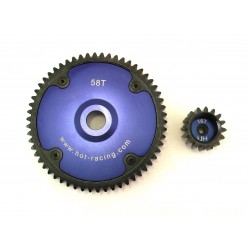 Blue Hub HD 58T 16T gear set Baja