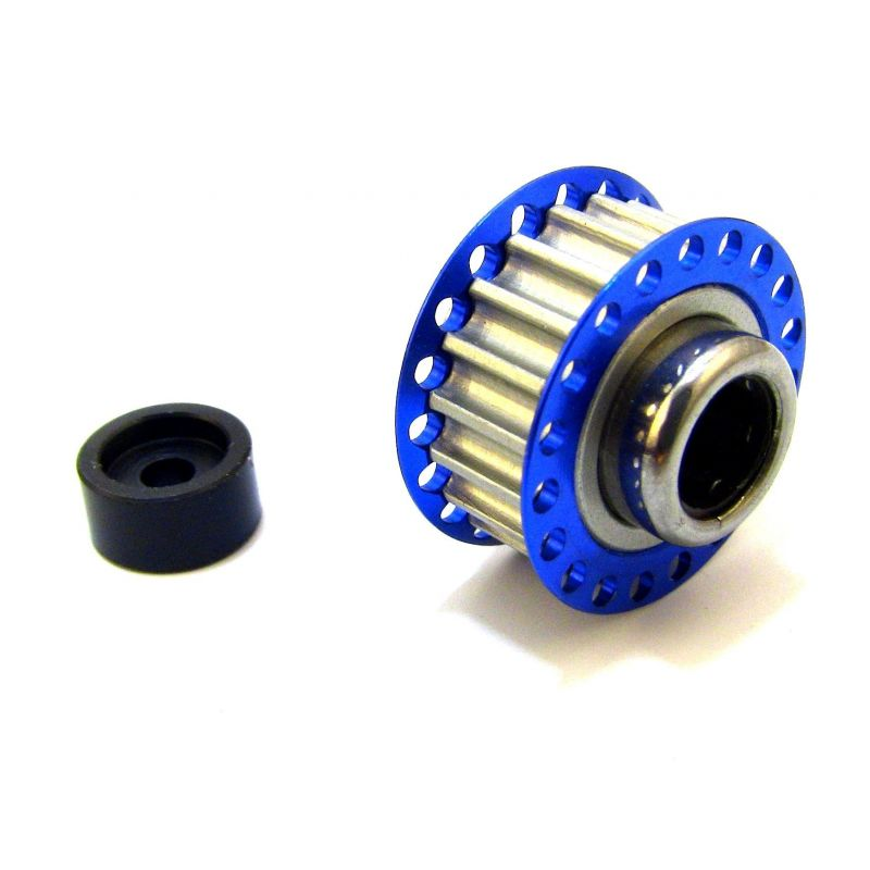 Hot Racing 19T Center One-Way Pulley [SCF125P19]