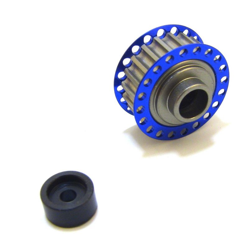 Hot Racing 20T Center One-Way Pulley [SCF125P20]
