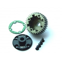 Hard Anodized Alumimum Diff Gear
