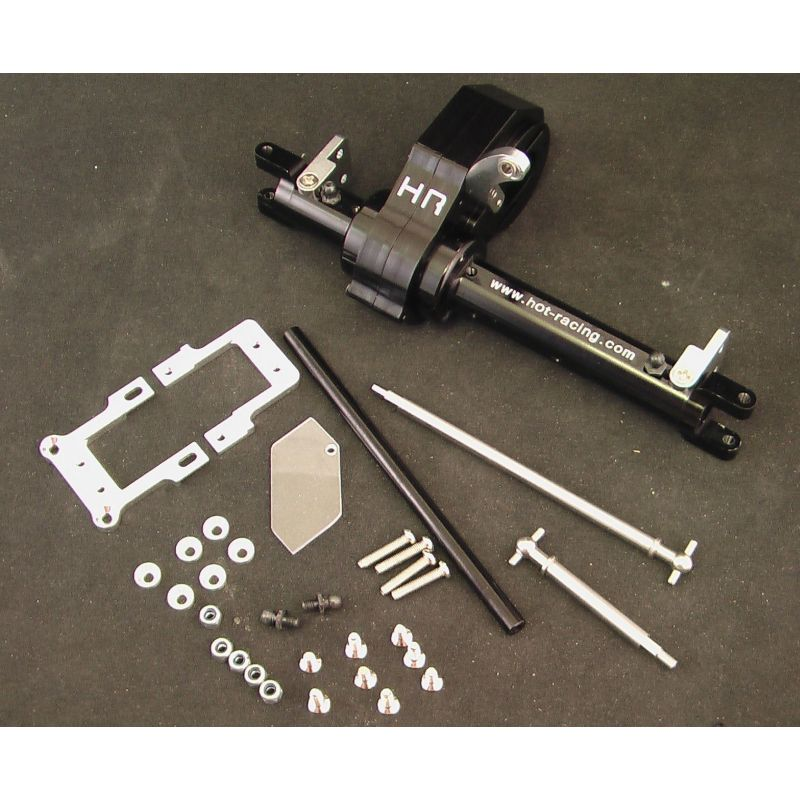 Hot Racing Black MOA Steering Axle Kit [SCP12LC01]