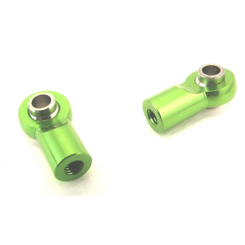 Green Aluminum Pipe Ball End (2)