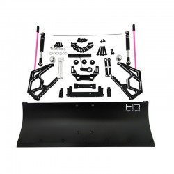 Black Aluminum Snow Plow Kit