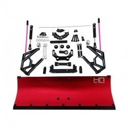 Red Aluminum Snow Plow Kit