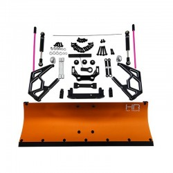Orange Aluminum Snow Plow Kit